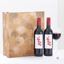 Red Medium-Bodied Merlot Wine Wine Duo Gift Set. Code: JGF2059RRW | National and Local Delivery