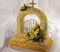 Gates of Heaven Funeral Flowers  Code JGF208FG