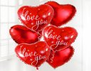 I Love You Balloon Bouquet Code: JGFB401LY  | Local Delivery Or Collect From Shop Only