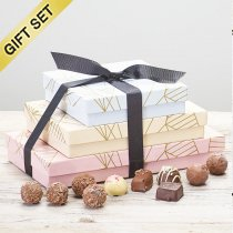 Trio of Belgian Chocolates Gift Set Code: C09481ZF| National and Local Delivery