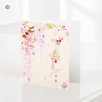Pretty Flowers – Blank Greetings Card Code: C08481ZF | National and Local Delivery