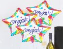 Congratulations prosecco and balloon celebration gift Code: JGFC4CPGS | local delivery or collect from shop only