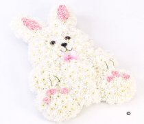 Rabbit Tribute Pink and White Code: F13221PS