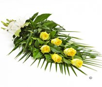 Simple Yellow Rose Sheaf Code: F13511YS | National and Local Delivery