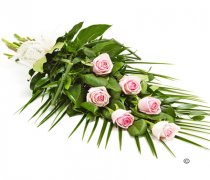 Simple Pink Rose Sheaf Code: F13511PS | National Delivery and Local Delivery Or Collect From Shop
