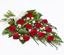 Classic Red Rose Sheaf Tribute Code: F13491RS | National Delivery and Local Delivery Or Collect From Shop