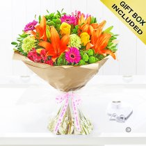 Thank You Vibrant Hand-Tied Code: JGF20381VHTY | Local Delivery Or Collect From Shop Only