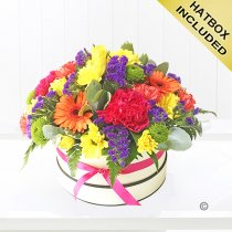 Citrus Brights Hatbox Code: JGFH3514CHB  | Local Delivery Or Collect From Shop Only