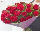 24 Red Rose Hand-tied Code: RROHT24 | National Delivery and Local Delivery Or Collect From Shop
