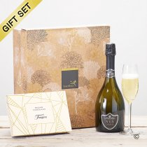 Nua Prosecco and Belgian chocolate gift set Code: JGFC08331PC | National delivery and local delivery or collect from shop