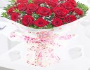 18 red roses hugs and kisses Code: JGF424018RR | Local Delivery Or Collect From Shop Only