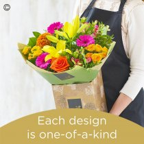 Summer hand-tied bouquet Code: HHTU1 | National Delivery and Local Delivery Or Collect From Shop