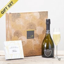 Nua Prosecco and milk chocolate truffle Gift Set Code: C09331ZS | National delivery and local delivery or collect from shop