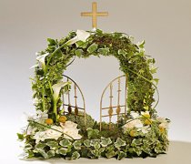 Woodland Gates of Heaven Funeral Flowers   Code: TR142 WD