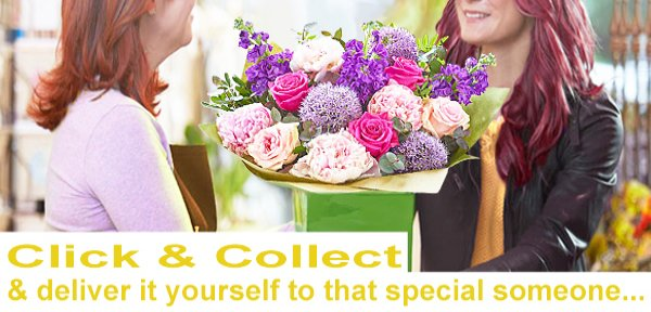 Click and Collect Flowers and Gifts